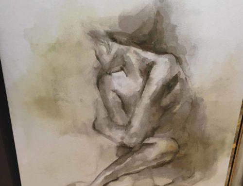 Art, Nude on Canvas 3′ x 4′ $125