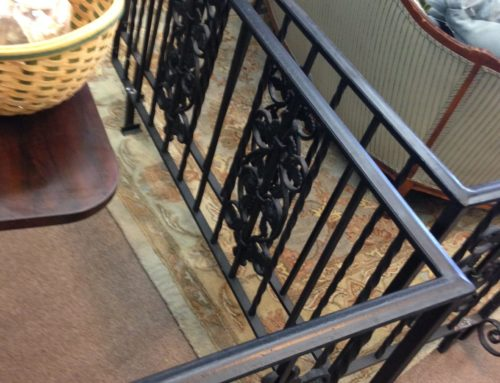Iron fencing, Vintage $250 Set of Two