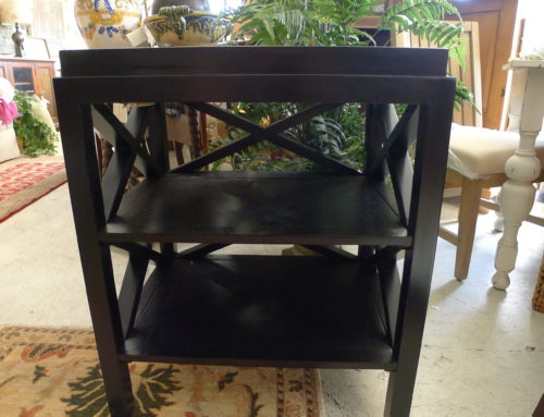 End Table, Solid Wood Two Shelves Pull out Shelf $225