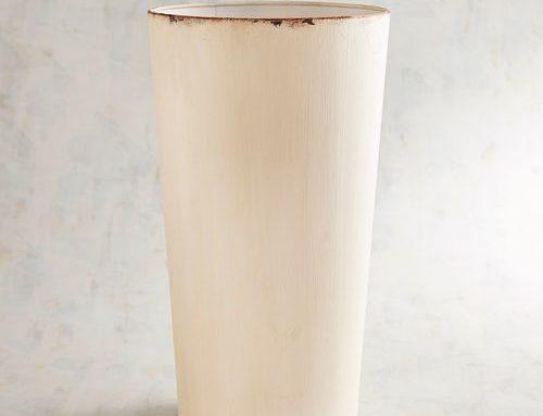 Vase, Farmhouse Style Metal approx 20″ $15